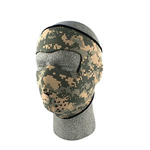ZAN(ザン) ネオプレン フェイスマスク (フルタイプ) デジタル ACU カモフラージュ WNFM015