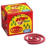 児玉兄弟商会(コダマ) パワー森林香(赤色)30巻入り 01107 防虫、殺虫用品