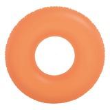 INTEX(インテックス) ネオンフロストチューブ 浮き輪 91cm #59262OR ビーチ・プール用品