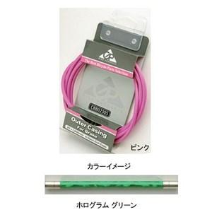 GIZA PRODUCTS(ギザプロダクツ) ブレーキ アウター ケーブル 1.8m 1.8m ホログラムグリーン CBB02313