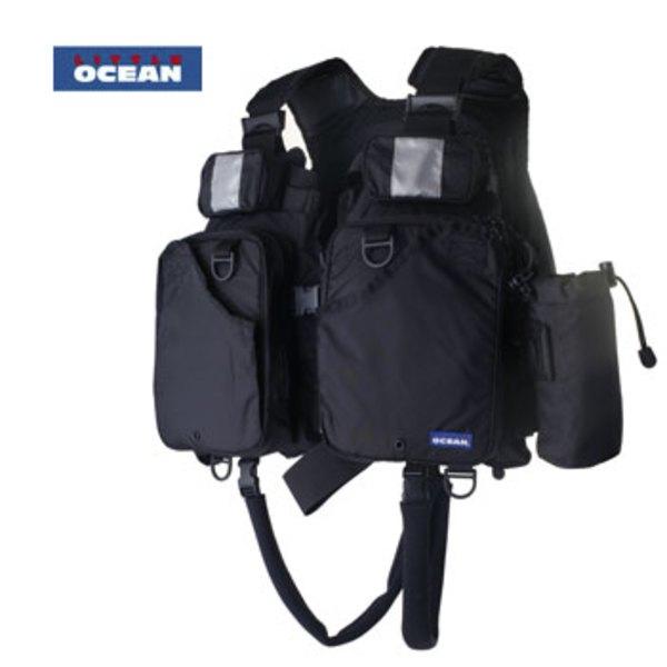 リトルオーシャン(LITTLE OCEAN) フローティングゲームベストII V-14 タックル収納付き