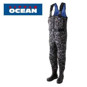 【クリックでお店のこの商品のページへ】リトルオーシャン(LITTLE OCEAN)CR ZIP ウエーダー