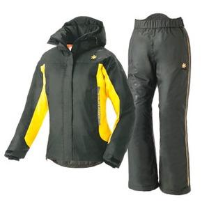 ロゴス(LOGOS) 軽量防水防寒 ウェザースーツ ビオラ Women's S 71(ブラック)