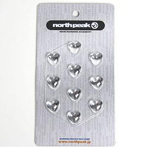 【送料無料】north peak(ノースピーク) デッキパット (HEART) CL NP-3262