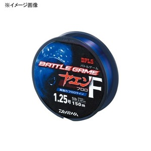 ダイワ(Daiwa) バトルゲーム ヤエンラインF 3号 クリア×レッド×ブルー 4604146