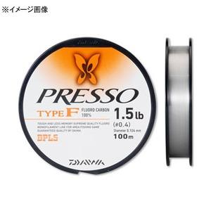 ダイワ(Daiwa) プレッソライン TYPE-F 04625334 トラウト用フロロライン