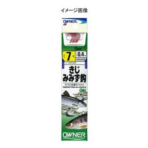 オーナー針 OHきじ・みみず鈎 鈎6/ハリス0.4 20030