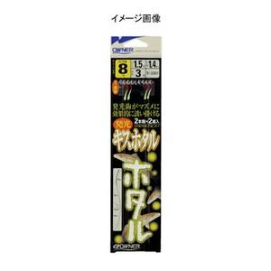 オーナー針 発光キスホタル 鈎7/ハリス1.5 N-3387