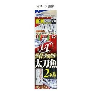 オーナー針 ライトタックル太刀魚2本 1/0号 Z-3634