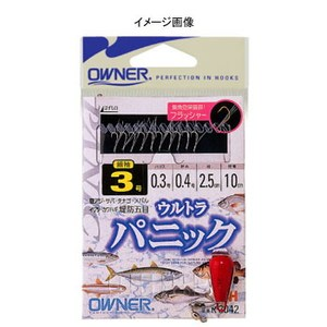 オーナー針 ウルトラパニック 鈎2.5ハリス0.2 R-3042