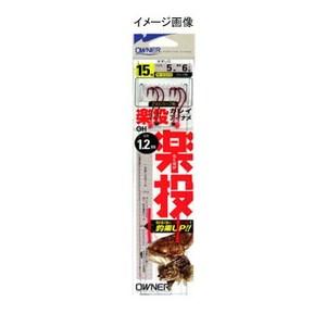 オーナー針 楽投カレイアイナメ 鈎13/ハリス4 N-3329