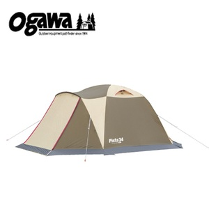 【送料無料】小川キャンパル(OGAWA CAMPAL) ピスタ34 ブラウンxサンドxレッド 2657