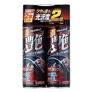 カーメイト(CAR MATE) タイヤ艶出し剤 超艶タイヤワックス 2本セット C34W ケア用品