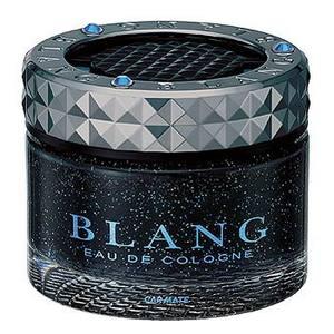 カーメイト(CAR MATE) ゼリー芳香消臭剤 ブラング クリスタル ブラック アフターシャワー 60ml ブルー G162