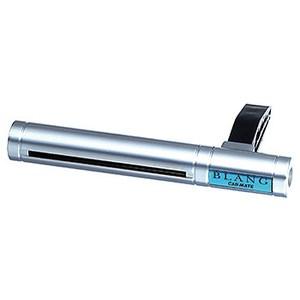 カーメイト(CAR MATE) エアコン吹出口取付タイプの芳香剤 ブラング エアスティック アクア シルバーxターコイズブルー H202