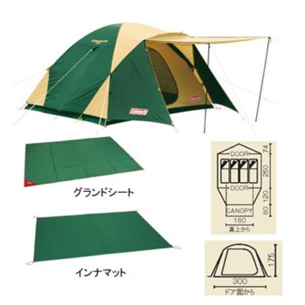 Coleman(コールマン) BCワイドドームスタートパッケージ 170TA0970D ファミリードームテント
