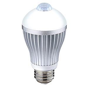 ライテックス(RITEX) センサー付きLED電球40型 昼白色相当 S-LED40N