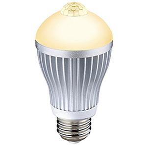 ライテックス(RITEX) センサー付きLED電球40型 電球色相当 S-LED40L