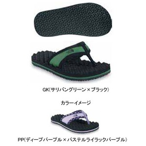 THE NORTH FACE(ザ・ノースフェイス) YOUTH BASE CAMP FLIP-FLOP Boy's&Girl's 22.0cm PP(ディープP×パステルライラックP)