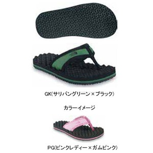 THE NORTH FACE(ザ・ノースフェイス) YOUTH BASE CAMP FLIP-FLOP Boy's&Girl's 20.0cm PG(ピンクレディー×ガムピンク)