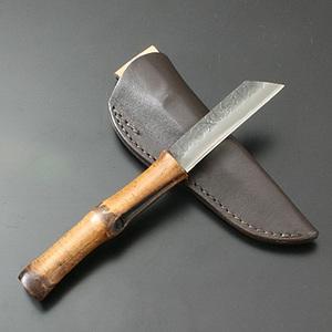 関兼常 無双匠竹柄 KW-15 シースナイフ