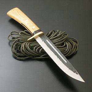 関兼常 兼常作傳古式 猪狩刀・両刃 TS-38 和風刃物
