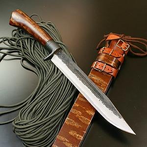 関兼常関伝古式 和鉄製錬狩猟匠桜巻・両刃