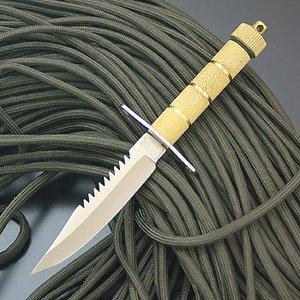 NORTH MAN(ノースマン) ミニランボーゴールド2 AW-6 シースナイフ