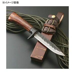 関兼常 関伝古式和鉄製錬 多重鋼桜巻細工匠・両刃 CW-21 シースナイフ