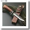 関伝古式和鉄製錬 多重鋼桜巻細工匠・両刃