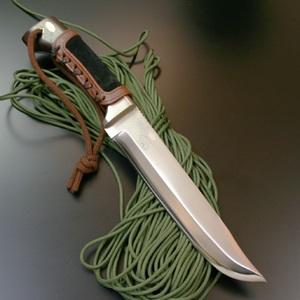 TSUGE(柘植) アンカライトナイフ (山人刀) 片刃 大 TG-5 シースナイフ
