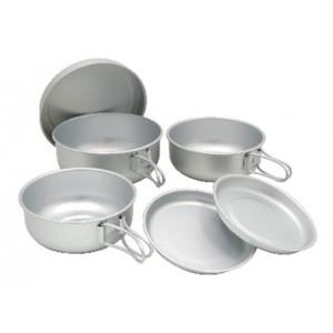 EPI(イーピーアイ) アルミ6点食器セット C-5307 テーブルウェアセット