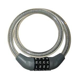 SAAB(サーブ) ダイヤル式ワイヤー錠JC-001W 10034