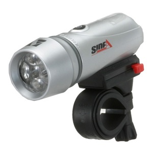 Side A(サイドエー) 高輝度5連LEDライト FL-502 シルバー 10054