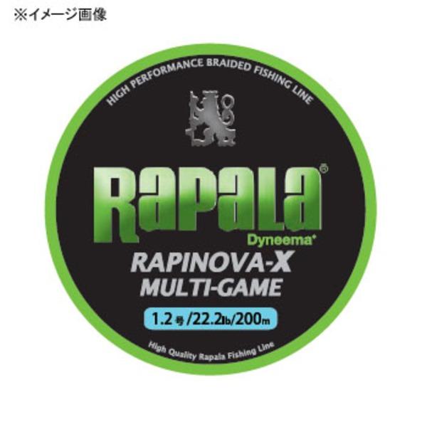 Rapala(ラパラ) ラピノヴァ・エックス マルチゲーム 200m RLX200M08LG オールラウンドPEライン