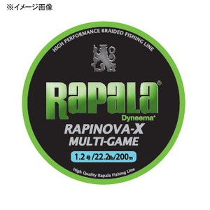 ラピノヴァ・エックス マルチゲーム 200m 1.0号 ライムグリーン