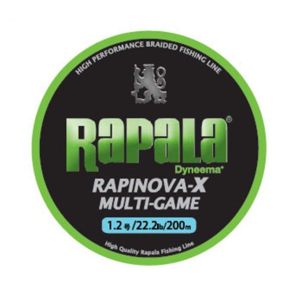 Rapala(ラパラ) ラピノヴァ・エックス マルチゲーム 200m RLX200M12LG オールラウンドPEライン