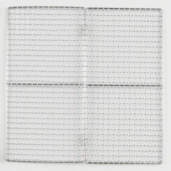 ロゴス(LOGOS) ピラミッドグリルL用焼き網(二つ折りモデル) 81064012 網、鉄板