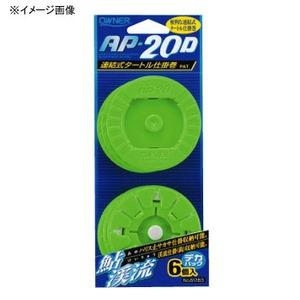 オーナー針 デカパック タートル仕掛巻AP-20D オレンジ 81289