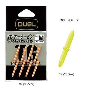 デュエル(DUEL) TGマーカーピン M Y(イエロー) H2512-Y