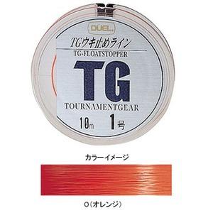 デュエル(DUEL) TGウキ止めライン 1.25号 O(オレンジ) H748-O