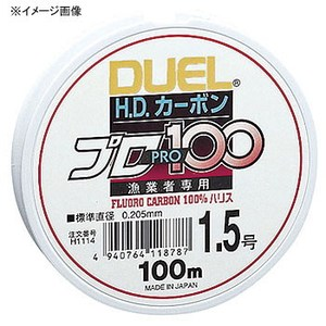 デュエル(DUEL) HDカーボンプロ100S 0.8号 クリアー H1111