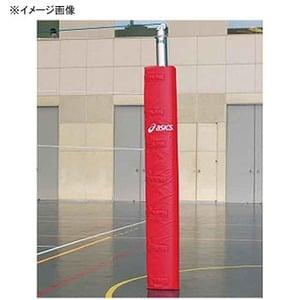 【送料無料】アシックス(asics) バレーボールポストカバー 23(レッド) 242700