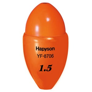 ハピソン(Hapyson)高輝度中通しウキ