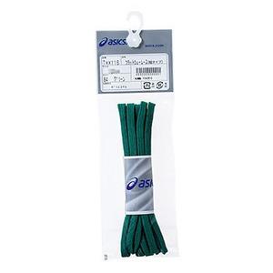 アシックス(asics) フラットシューレース(細タイプ) 100cm 84(グリーン) TXX116