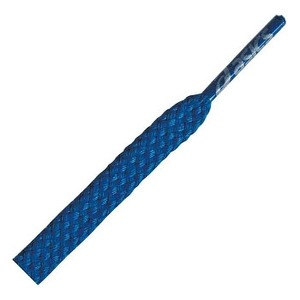 アシックス(asics) レーシングシューレース 110cm 43(ブルー) TXX118