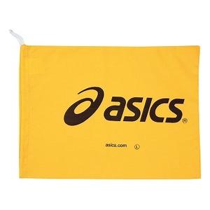 アシックス(asics) シューズ用布袋 (asicsプリント入り) L 04(イエロー) TZS990