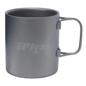 EPI(イーピーアイ) ダブルウォールチタンマグ 300ml T-8104