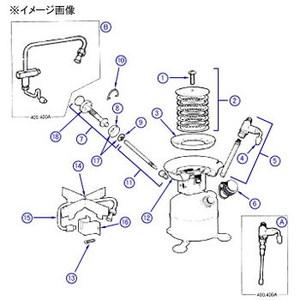 Coleman(コールマン)【パーツ】 No.12 BURNER BOX ASSY バーナーボックス一式
