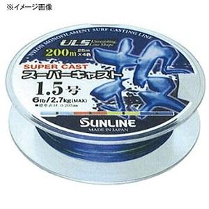 サンライン(SUNLINE) スーパーキャスト投 200m HG 5号 クリアブルーxレッドxイエローxブルー 60025148